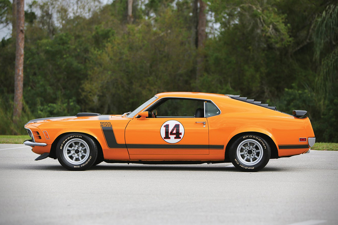 Auction Block 1970 Ford Mustang Boss 302 Hiconsumption Purchase 40000