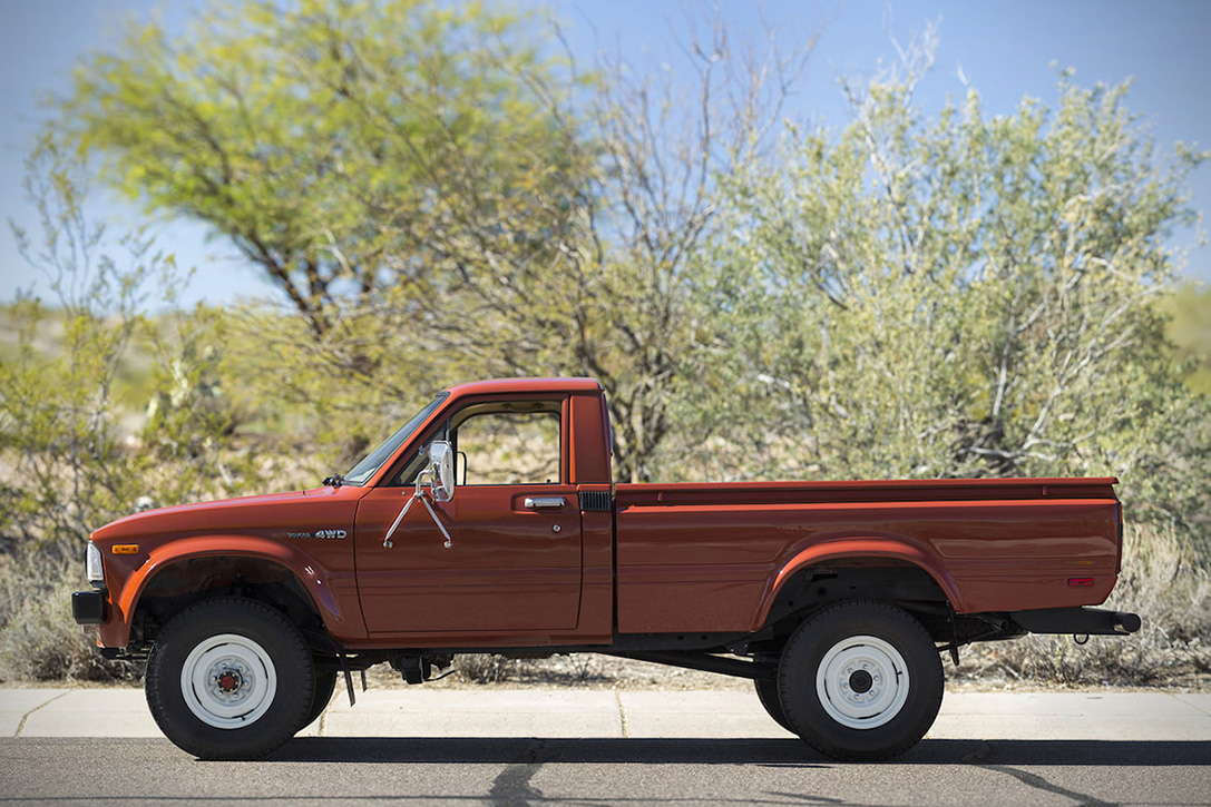 Auction Block: 1983 Toyota Pickup 4x4 | HiConsumption