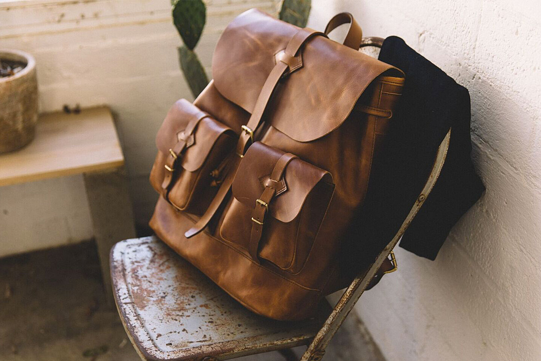 850cd72543 Well Tanned  15 Best Leather Backpacks