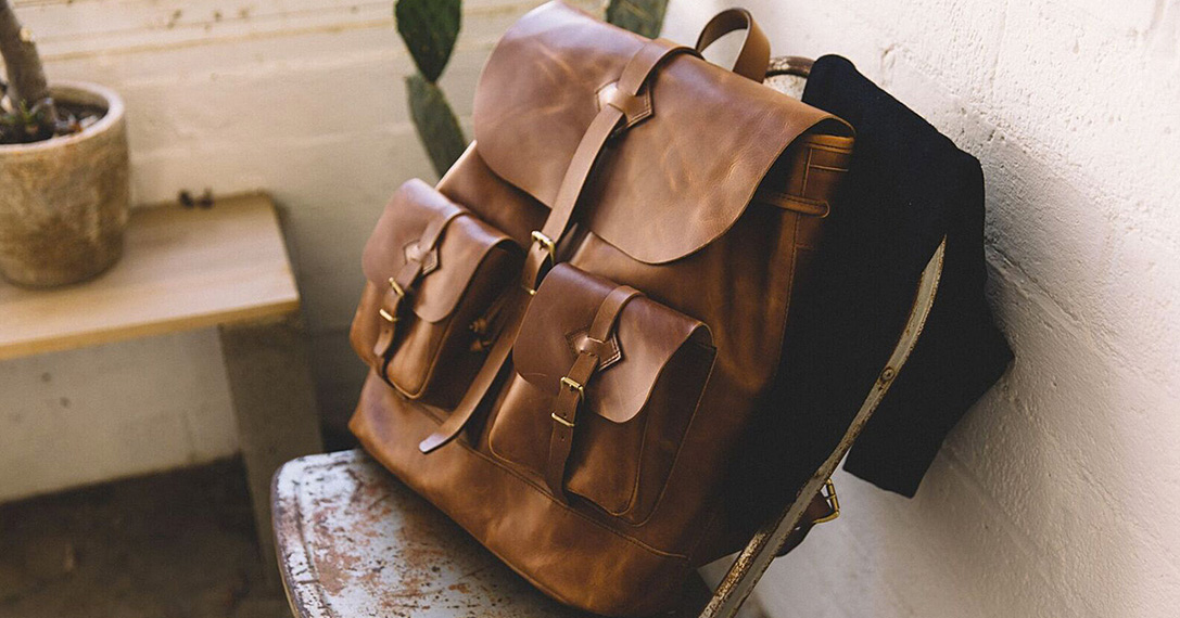 Well Tanned 15 Best Leather Backpacks