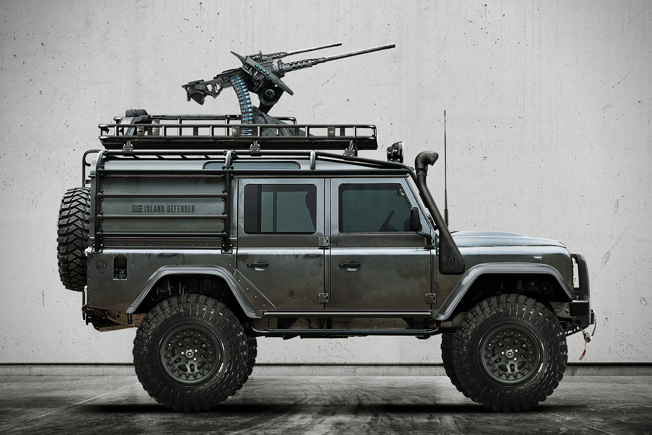 Defender 110 2018 >> Land Rover Defender 110 'Predator' | HiConsumption