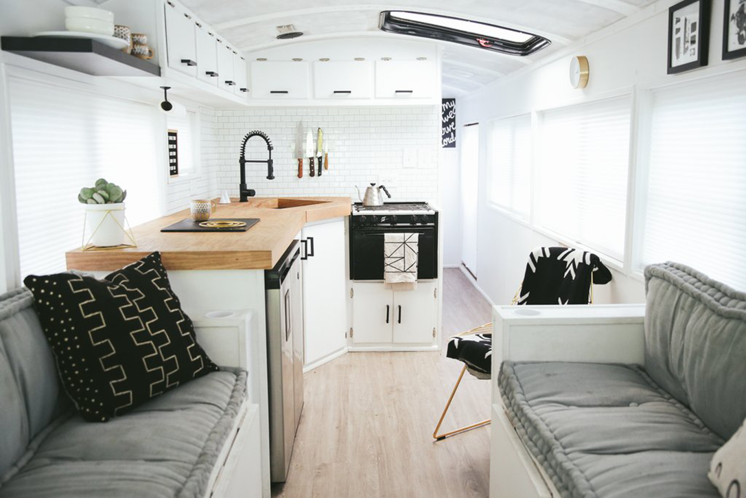 School Bus Home By The Mayes Team Hiconsumption