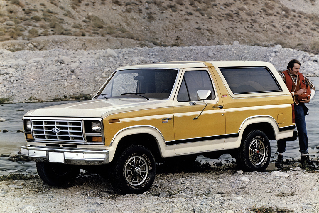 The Complete History Of Ford Bronco Hiconsumption 1980 Frame Third Generation 1986