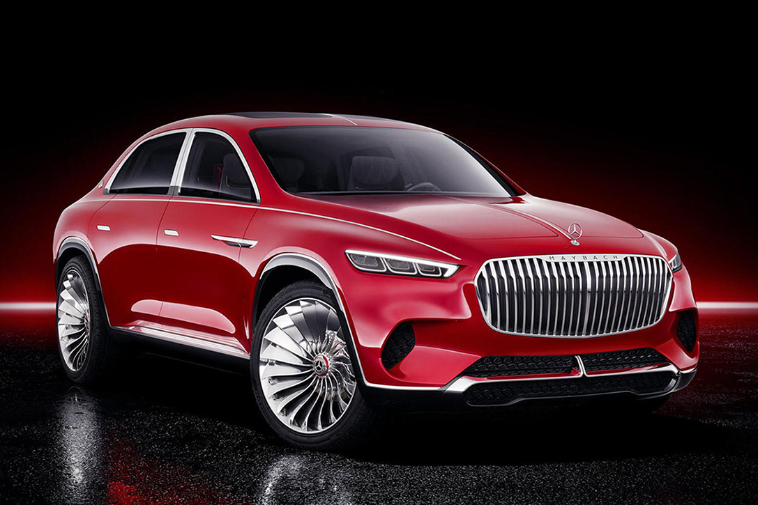 Vision Mercedes-Maybach Ultimate Luxury SUV Concept ...