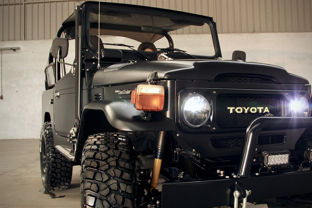1985 Toyota Land Cruiser 'Project Sequoia' | HiConsumption
