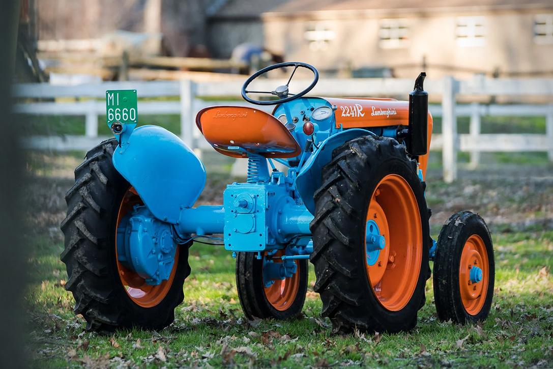 Auction Block: 1960 Lamborghini 2241R Tractor | HiConsumption