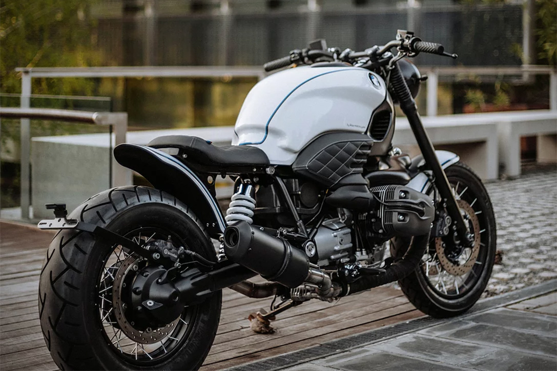 BMW R1200C 'Magpie' By Roa Motorcycles | HiConsumption