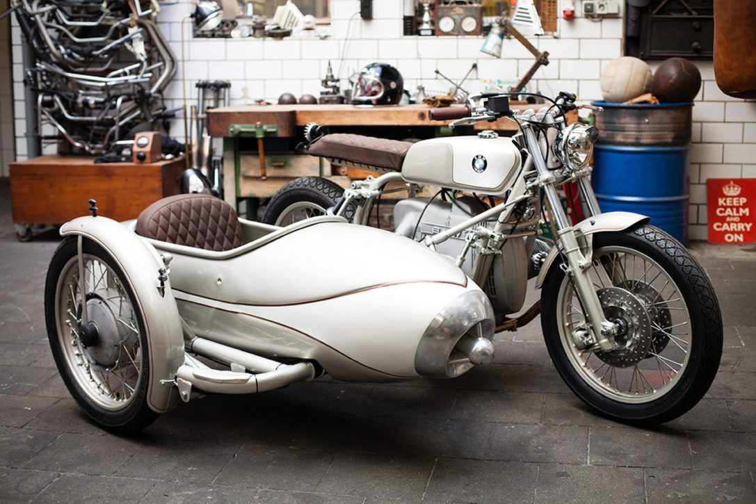 BMW R80 Sidecar Motorcycle By Kingston Custom | HiConsumption