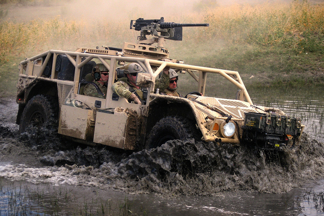 General Dynamics The Flyer 60 Lightweight Tactical Vehicle