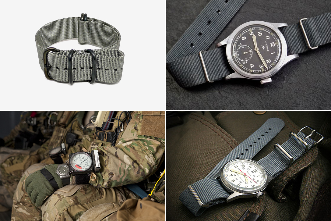 Buckle Up: The History Of The NATO Watch Strap