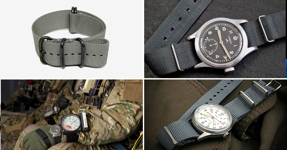 5224a79e5ba Buckle Up  The History Of The NATO Watch Strap