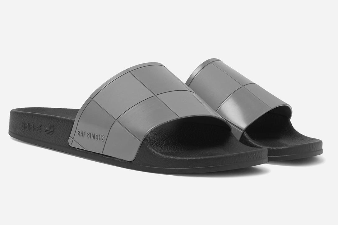 127c4b7650f3 Raf Simons + Adidas Originals Adilette Rubber Slides