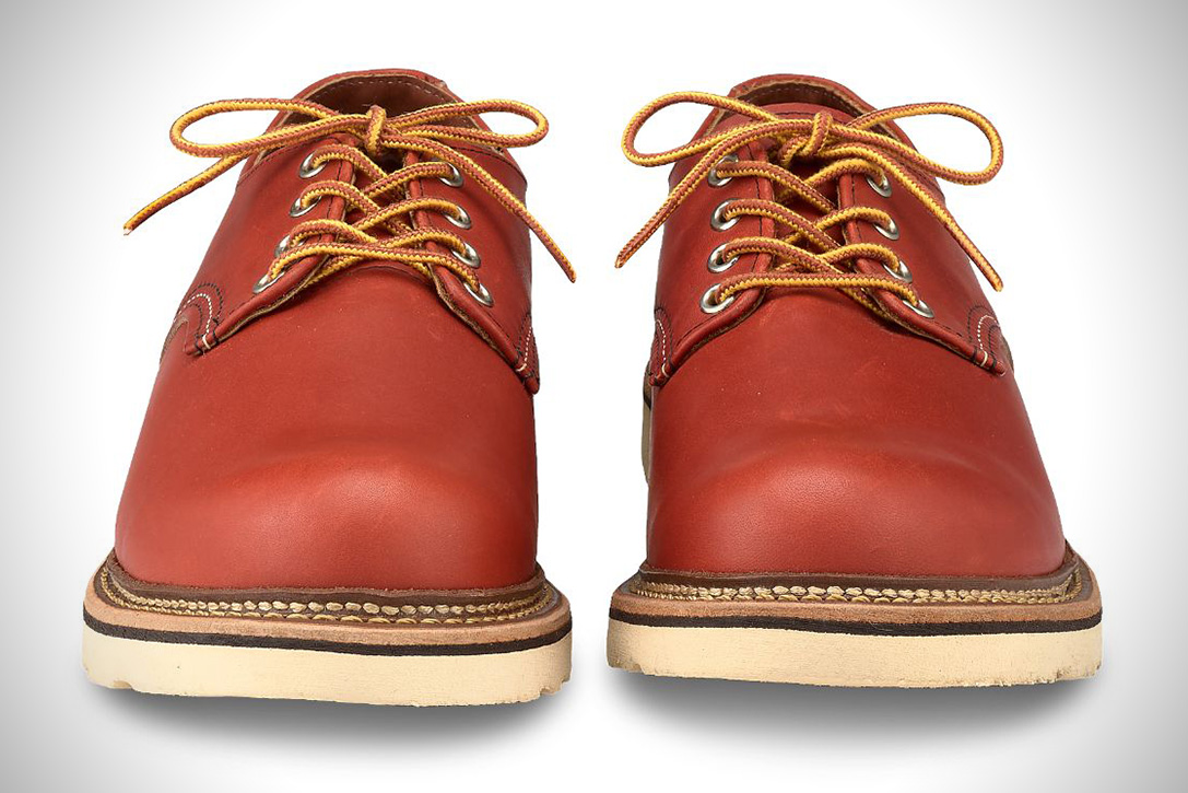 Red Wing Leather Work Oxford Hiconsumption
