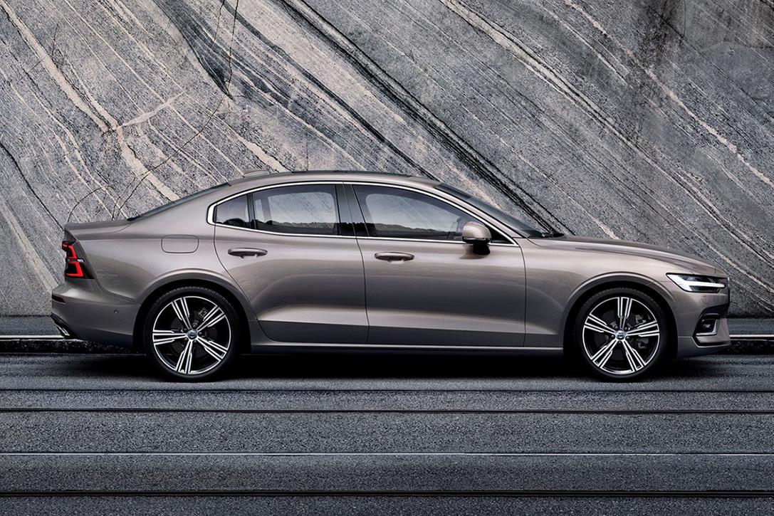 Volvo S Sedan on Combustion Engine