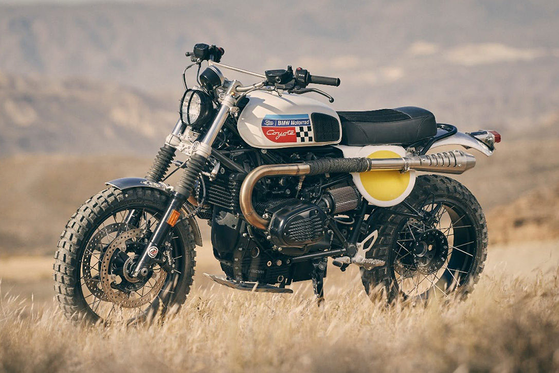2017 BMW R nineT Urban G/S 'Coyote' By Fuel Motorcycles ...