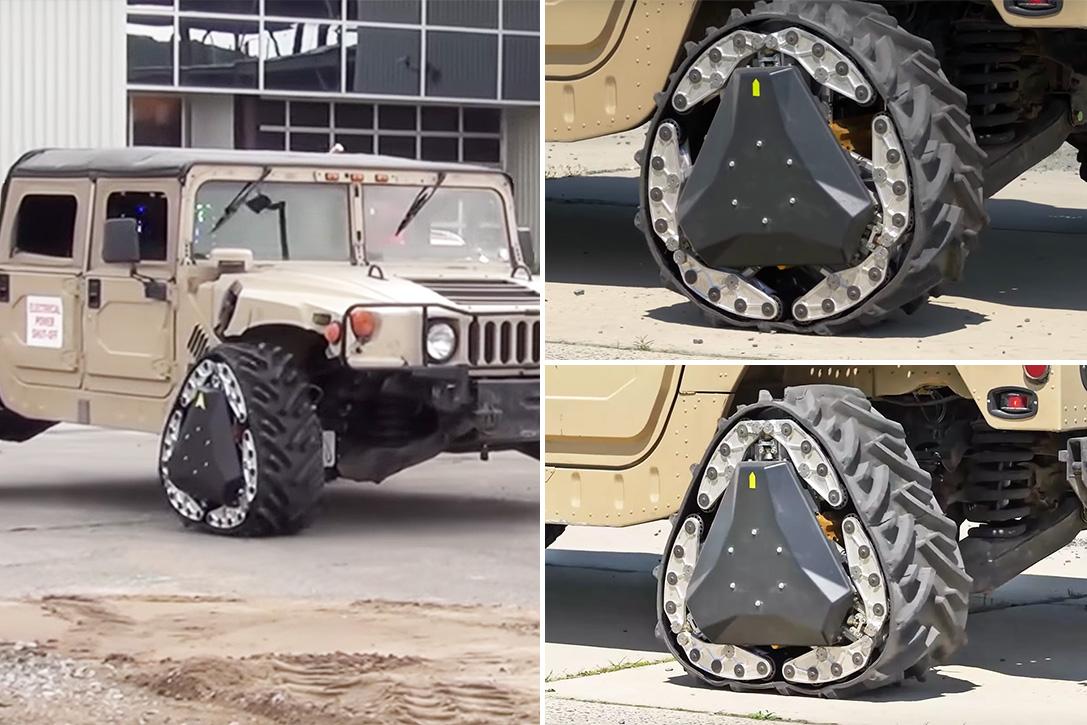 darpa transforming tank tread wheels hiconsumption. Black Bedroom Furniture Sets. Home Design Ideas