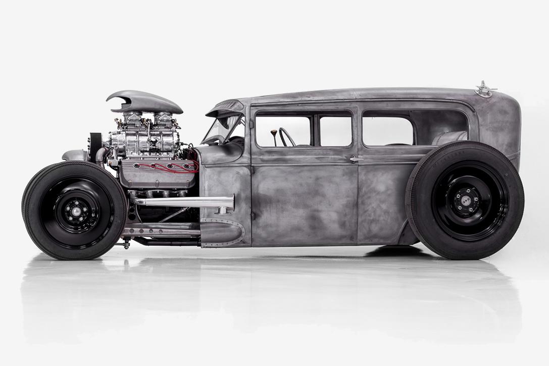1931 Ford Model A Sedan Hot Rod Hiconsumption