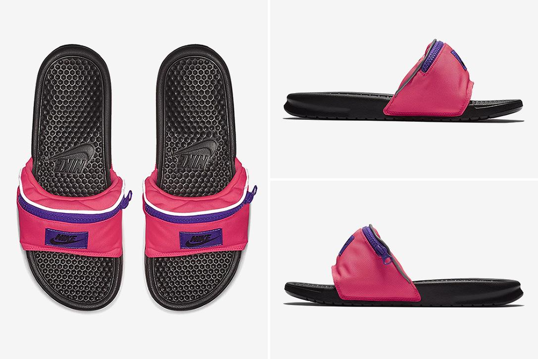estilo de moda proporcionar una gran selección de Nueva York Nike Fanny Pack Slides | HiConsumption