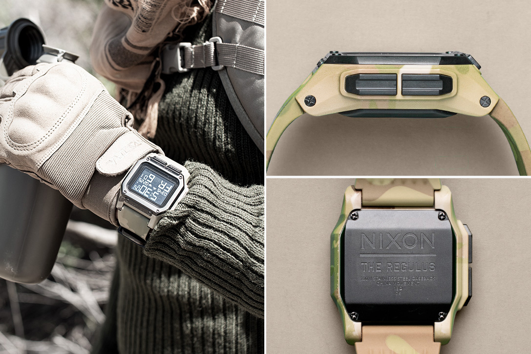 Nixon Regulus Watch: Designed By Spec Ops, Tough As A Tank""