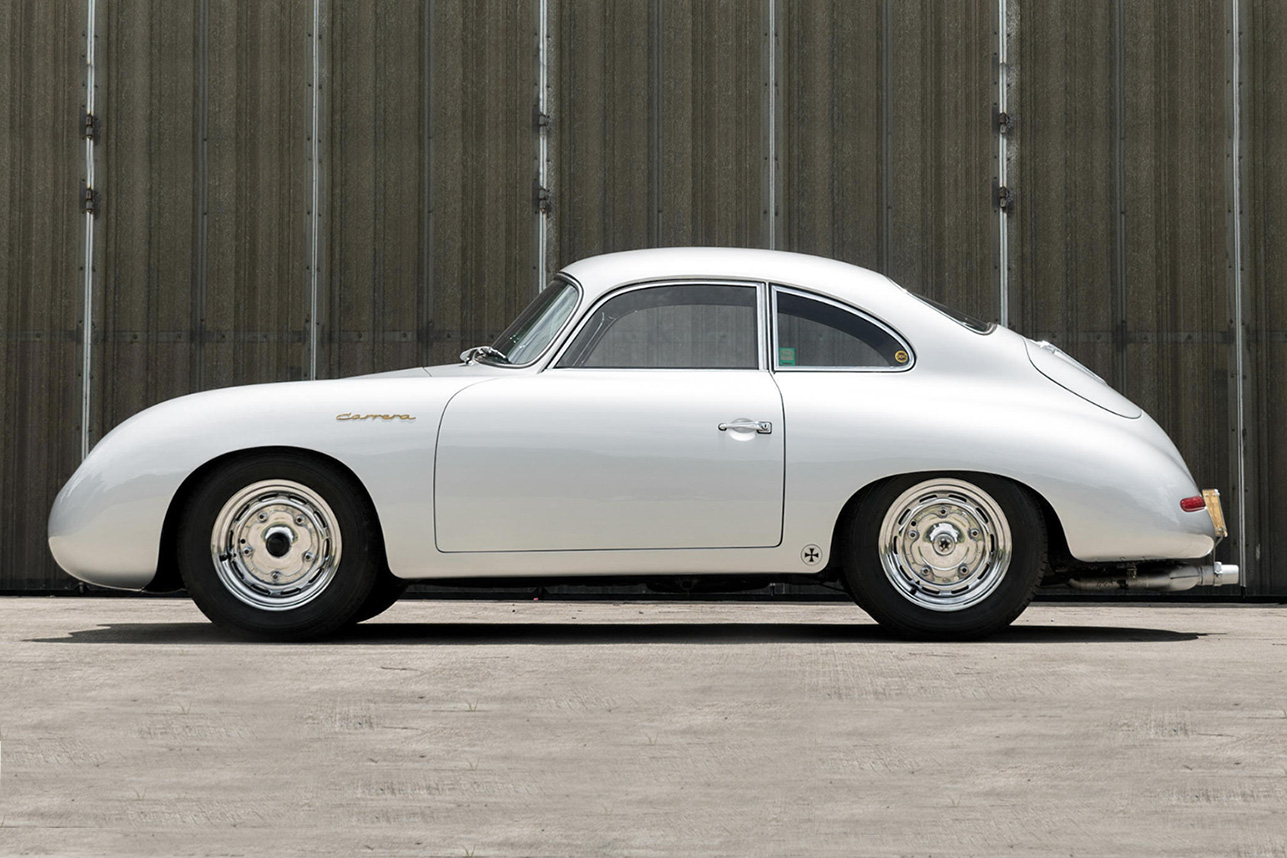 Auction Block 1956 Porsche 356a Carrera Gs Hiconsumption