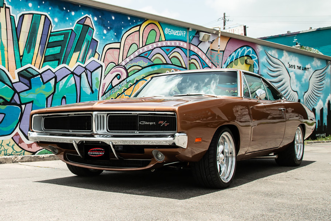 1969 Dodge Charger Hellcat By Bumberas Performance