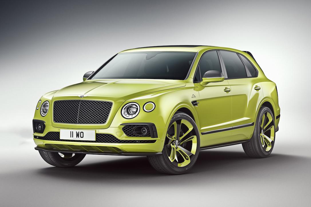 Bentley Bentayga Pikes Peak Edition on Car Entertainment Systems