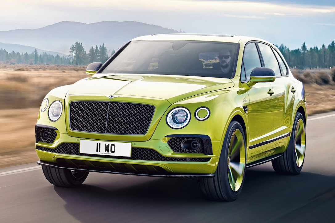 2019 Bentley Bentayga Pikes Peak Edition