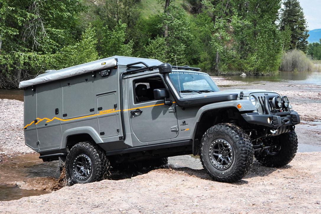 AEV Jeep Wrangler OutPost II Overlander | HiConsumption