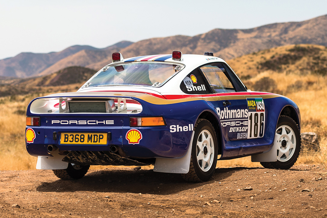 Auction Block: 1985 Porsche 959 Paris-Dakar Rally Car | HiConsumption