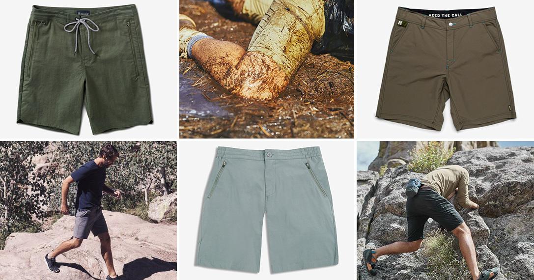 12 Best Hybrid Adventure Shorts For Men | HiConsumption
