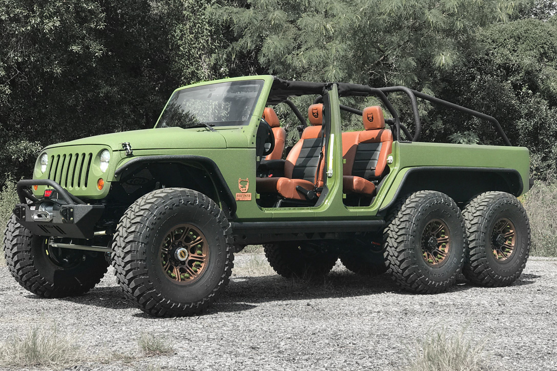 Jeep Wrangler Jk 6x6 By Bruiser Conversions Hiconsumption