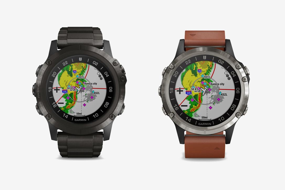 Garmin D2 Delta Series Aviator GPS Smartwatches