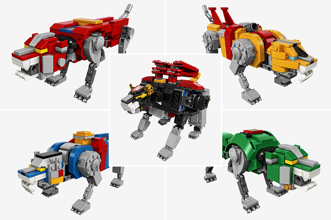 Lego Voltron Legendary Defender Set Hiconsumption
