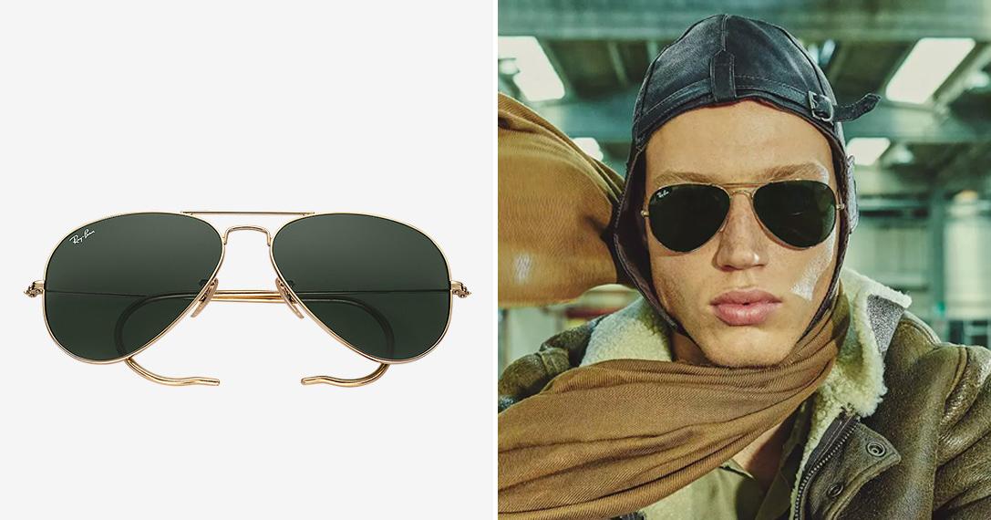 Ray-Ban Aviator Reloaded Sunglasses   HiConsumption