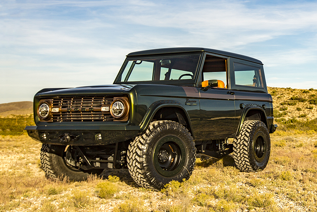 1976 Ford Bronco 'Green Monster' | HiConsumption