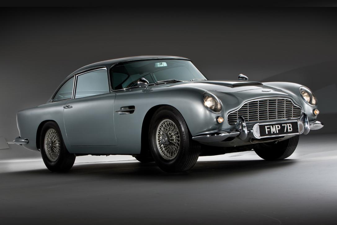 Aston Martin Goldfinger Db5 Continuation Hiconsumption