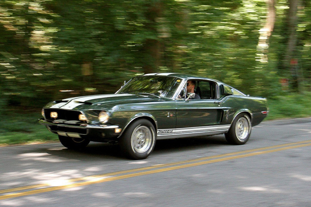 Auction Block: 1968 Shelby Mustang GT500 KR | HiConsumption