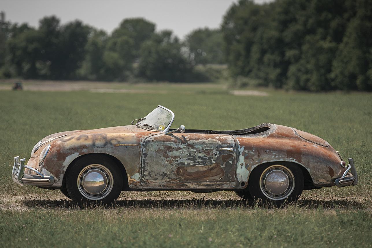 Barn Find: 1958 Porsche 356 'Super' Speedster