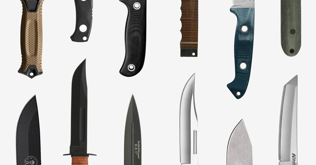 Hard Cuts: 20 Best Fixed Blade Knives