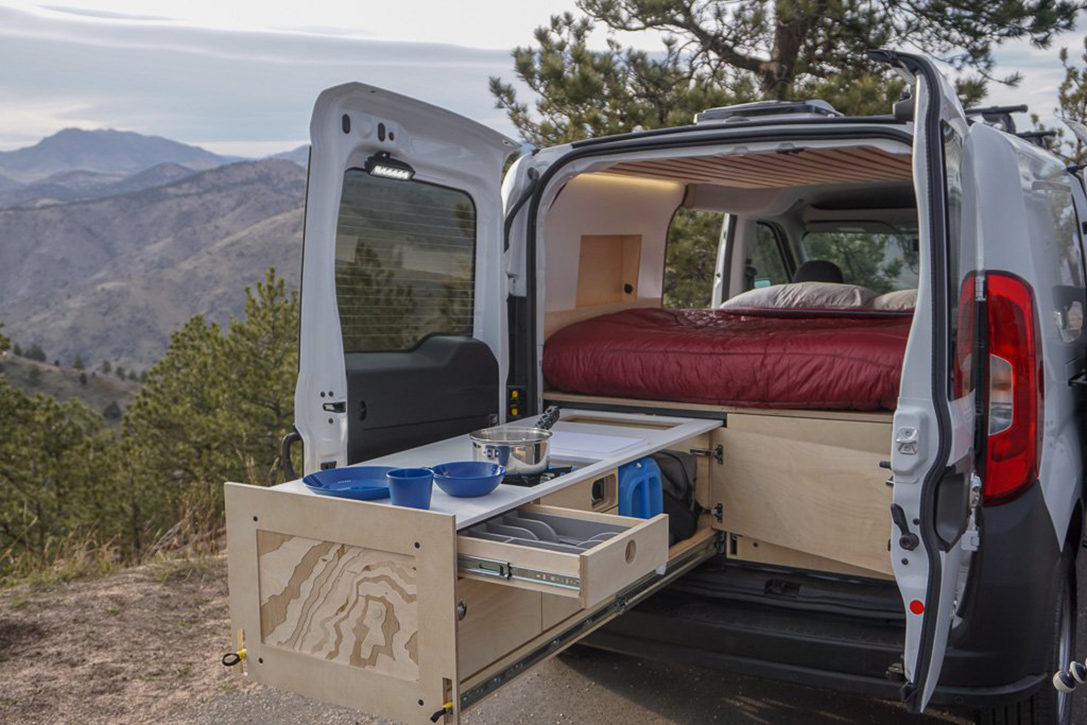 Contra Van Camper Van Conversion Kit | HiConsumption