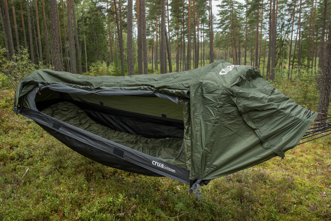 Crua Outdoors Hybrid Hammock Tent Hiconsumption