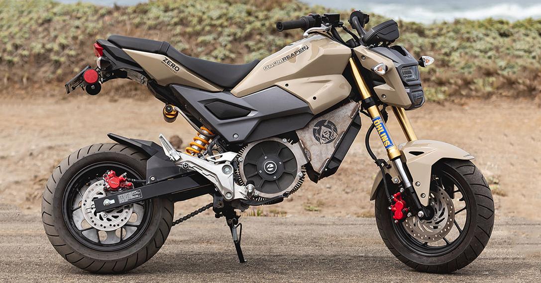 Honda Grom Build >> Honda MSX125 'Grom Reaper' By Cole Mishler | HiConsumption