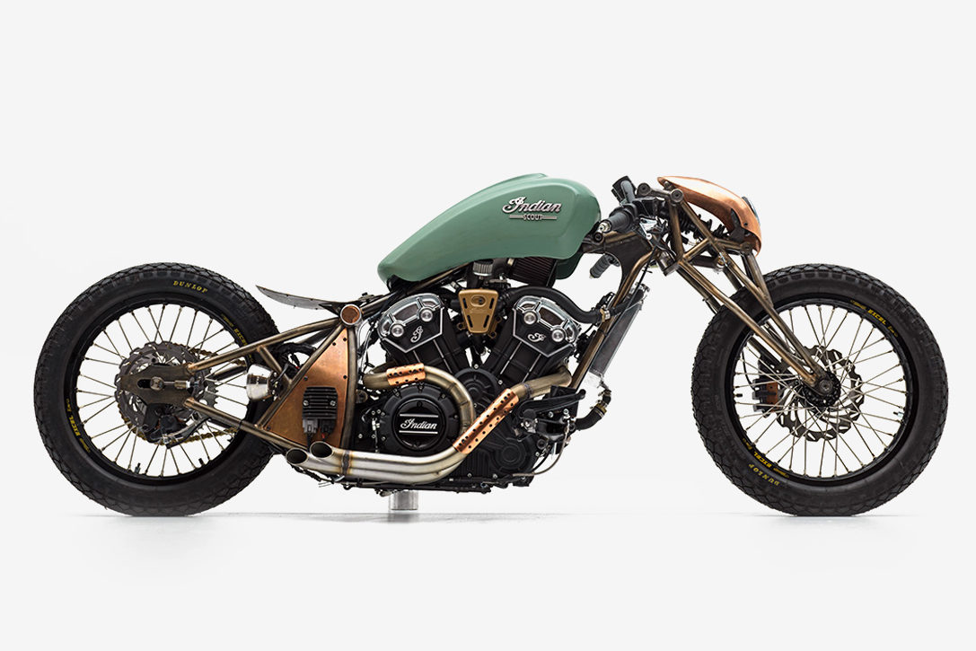 Indian Scout Bobber Chopper By Alfredo Juarez Hiconsumption