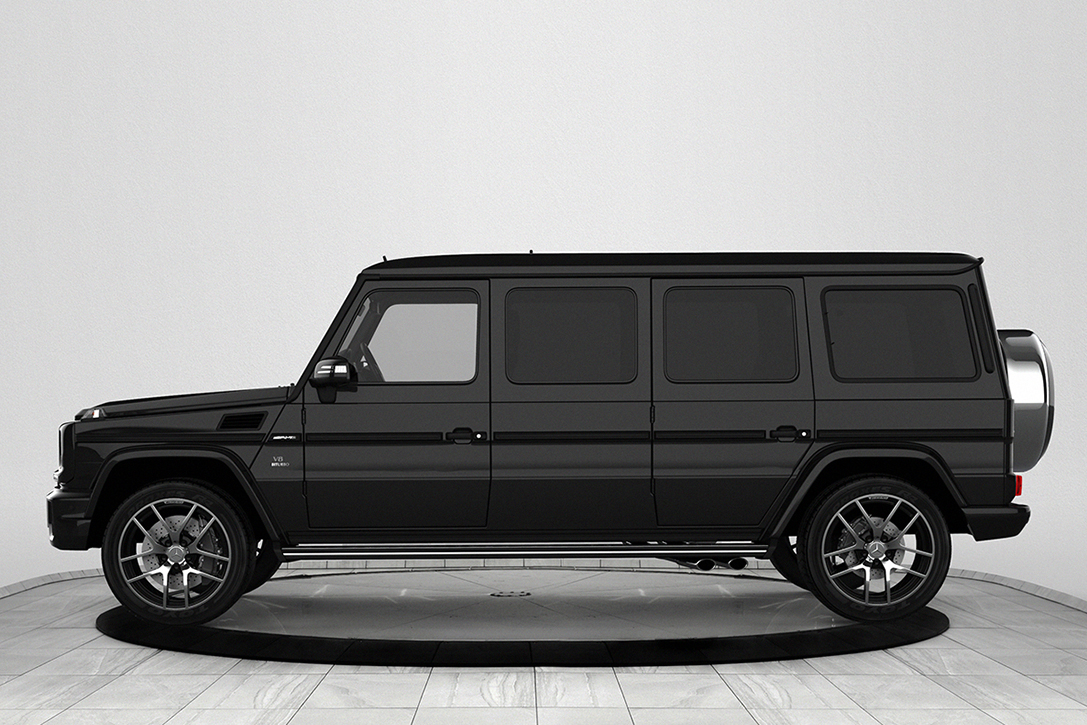 Inkas 2018 Armored Mercedes Benz G63 Amg Limo Hiconsumption