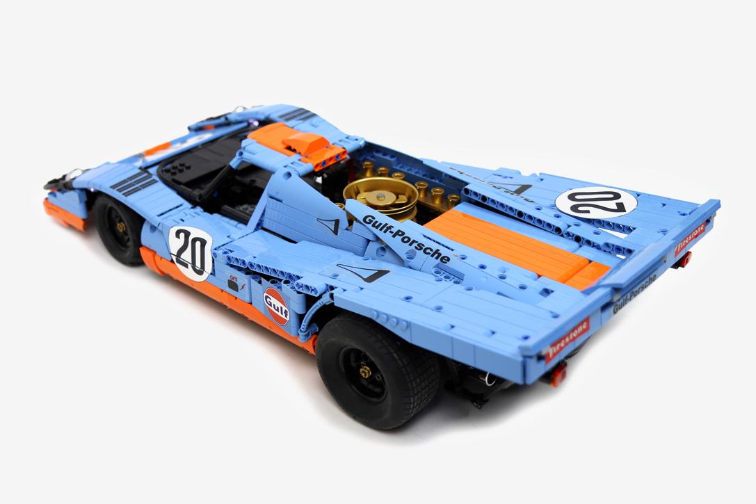 Lego Technic Rc 1970 Porsche 917k Hiconsumption