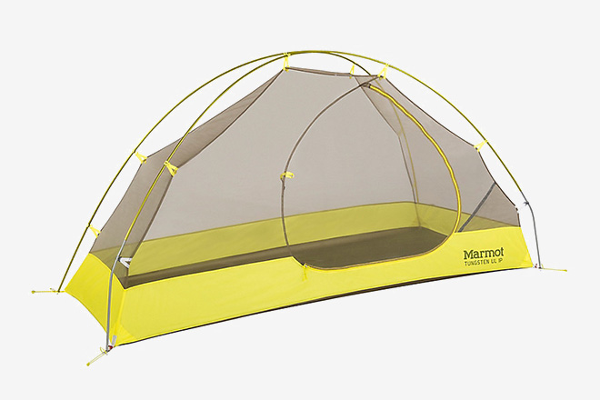 Marmot Tungsten UL 1P Tent & Hiker Housing: 10 Best Ultralight Backpacking Tents | HiConsumption