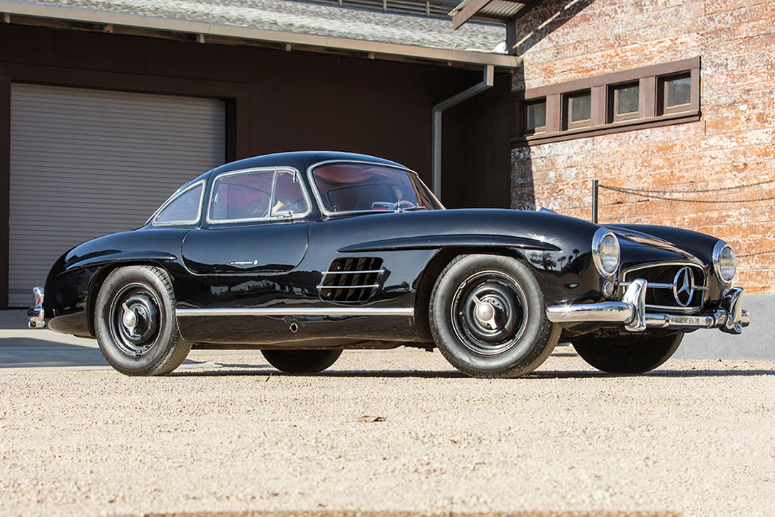 auction block 1955 mercedes benz 300sl gullwing coupe hiconsumption
