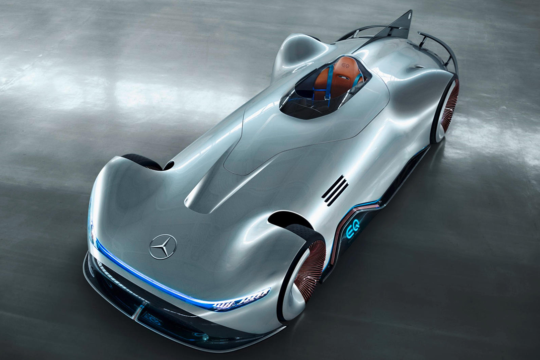 Mercedes Benz Vision Eq Silver Arrow Hiconsumption