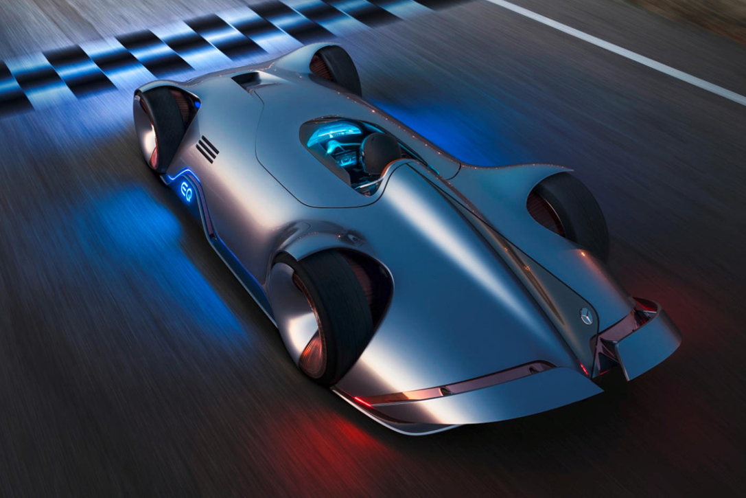 Mercedes Benz Vision Eq Silver Arrow Hiconsumption
