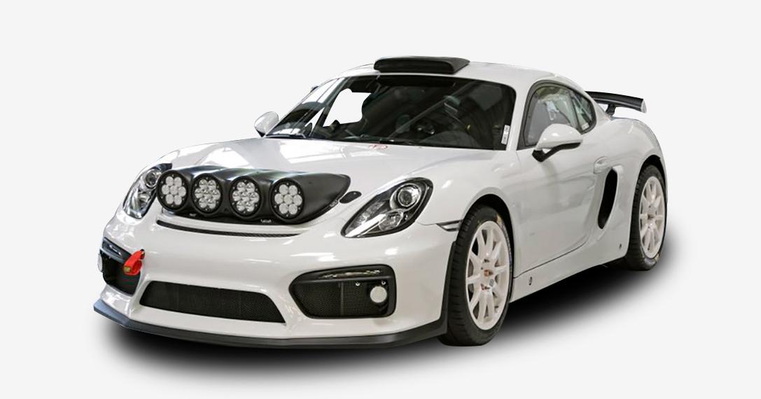 Porsche Cayman Gt4 Clubsport Rally Concept Hiconsumption